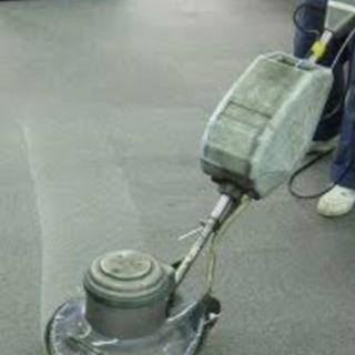 マンション内日常清掃、要ポリッシャースキル