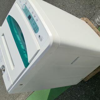 良品◆引き取り歓迎◆ヤマダ電機4.5K洗濯機 2017年YWM-...