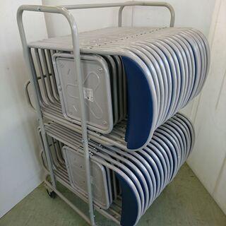山口)パイプ椅子1脚 BIZGP06H(オフィス家具専門店)