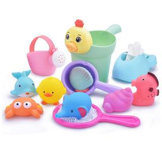 新品未使用 お風呂用おもちゃ 12点セット