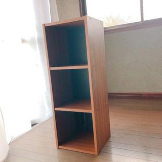 小さめカラーボックス 、3段ボックス