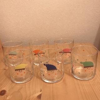 子ども用グラス 未使用 6個セット