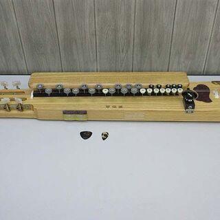 ss1882 電気大正琴 27鍵 琴伝流 木目 ナチュラル…