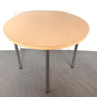S20  オフィス用 丸テーブル  シンプル