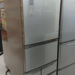 【クリーニング済】東芝427L 5ドア冷凍冷蔵庫「GR-E43G...