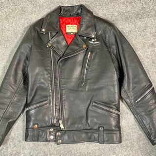 Lewis Leathers x Paul Smith Red ...