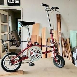 ちっさいタイヤの自転車