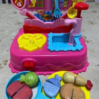 水で色が変わるおもちゃ ままごとセット