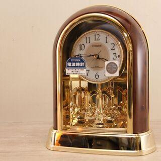 未使用品 CITIZEN シチズン 置き時計 4RY656…