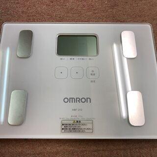 値下げ★中古★オムロン OMRON 体重体組成計 HBF-212...