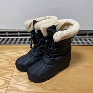 MOZ 子ども用ブーツ 22.0㎝〜22.5㎝ ブラック