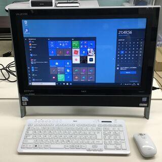 【美品】NEC デスクトップパソコン Win10・Office2...