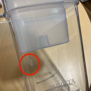 ブリタ 浄水器 ポット 浄水部容量:1.1L(全容量:2.2L)