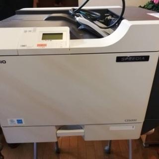 (取引中)無料 CASIO GE6000 業務用レーザープリンター