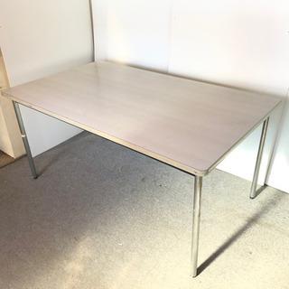 S53 デスクワークテーブル ホワイト 幅160cm 奥9…