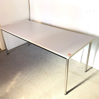 S54 作業テーブル デスクワークテーブル 幅180 奥7…