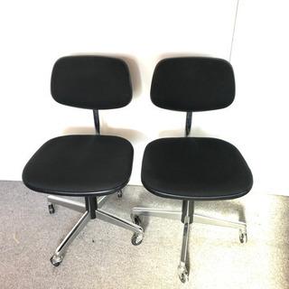 S57 KOKUYO 事務椅子 回転式 2脚セット