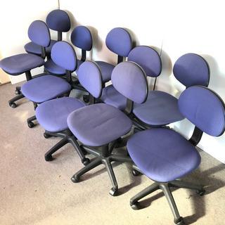 S58 事務用 回転椅子 事務椅子 10脚セット