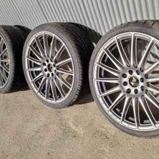 タイヤ  18インチレイズ RAYS PCD100