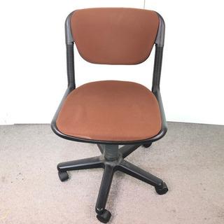 S88 事務椅子 事務用品 回転式椅子 茶