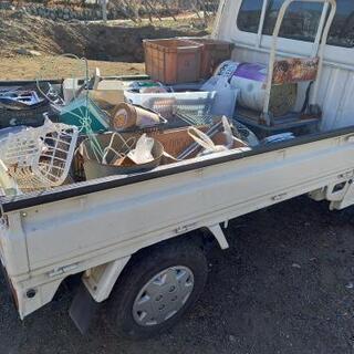 不要品、ゴミ 軽トラ1台15000円