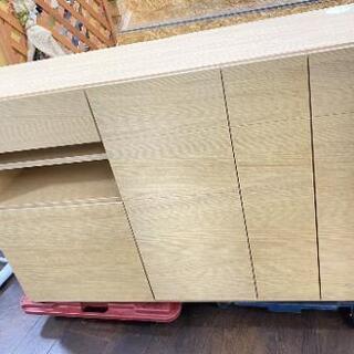美品 モーブル製 130サイドボード パッチ2 3色対応(WN/...
