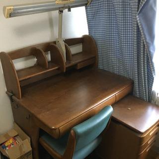 浜本工芸 学習机 椅子セット