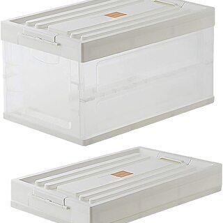 大容量の折りたたみ出来る収納ボックス 収納ケース 1個