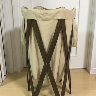 折り畳み可⭐︎ランドリーバスケット 洗濯かご
