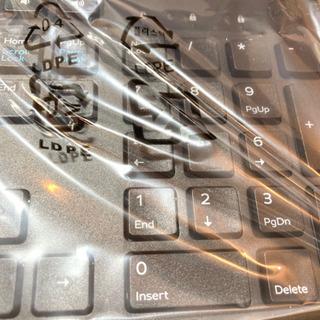 DELL純正キーボード(有線) - パソコン