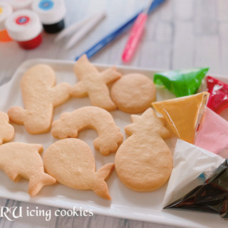 おうち時間を楽しくします!ご自宅でアイシングクッキーが作れるようになるレッスンの画像