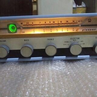 【ネット決済・配送可】パイオニアAM-R81 昭和レトロ真空管ア...