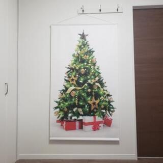 布製特大クリスマスツリータペストリー