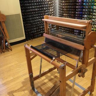 さをり織り 手織りマフラー体験教室