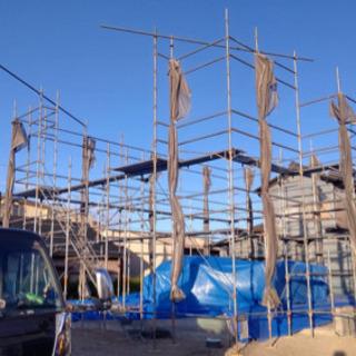 足場の組み立て解体作業