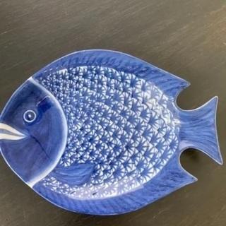 【ネット決済・配送可】お魚皿