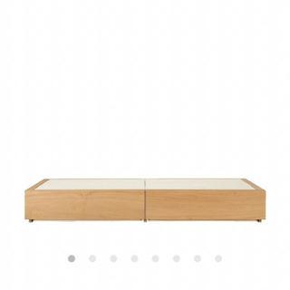 無印 収納シングルベッド