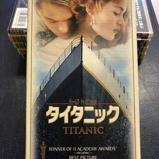 値下げ★中古★ビデオ VHS 洋画 タイタニック ジェーム…