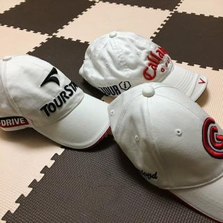 紳士用ゴルフ帽子