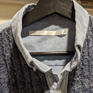 【ネット決済】effectone.gloveeek 青シャツ