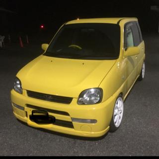 【ネット決済・配送可】交換可プレオ 黄色 車高調 車高短 4ナンバー