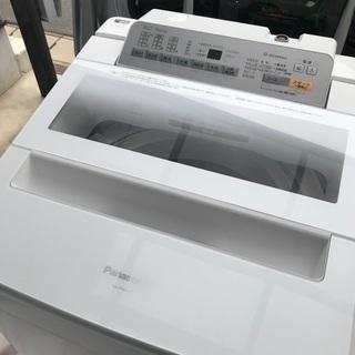 取引中2016年製パナソニック全自動洗濯機容量8キロ美品。千葉県...