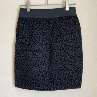 【新品】ヒョウ柄ミニスカート / Mサイズ