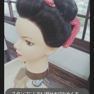 日本髪セット