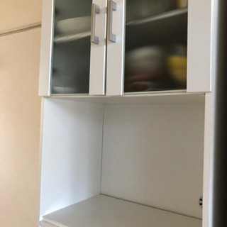 食器棚 ホワイト - 名古屋市