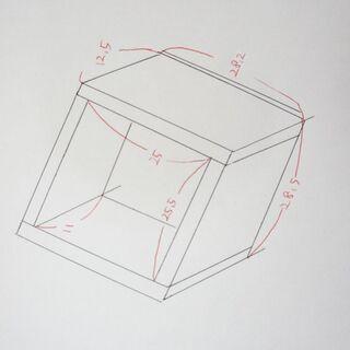 木箱(合板)4個セット - 豊川市