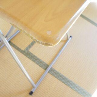 折り畳みテーブル・イス セットで - 家具