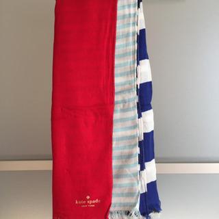 【新品未使用】kate spade(ケイトスペード)  スカーフ