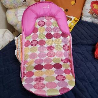 赤ちゃん ソフトバスチェア ピンク