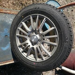 【ネット決済・配送可】タイヤ、ホイール  スタッドレスタイヤ